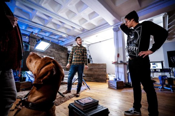 HUNTER – Studio Dreharbeiten