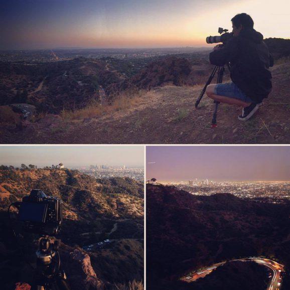 Dreharbeiten – Los Angeles (USA)