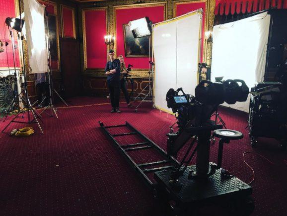 TV-Spot Dreharbeiten
