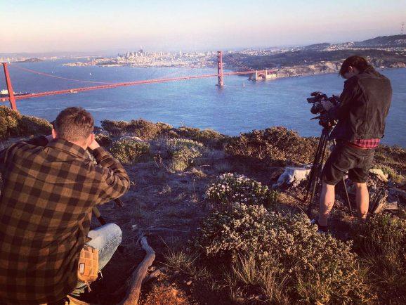 Dreharbeiten  – San Francisco