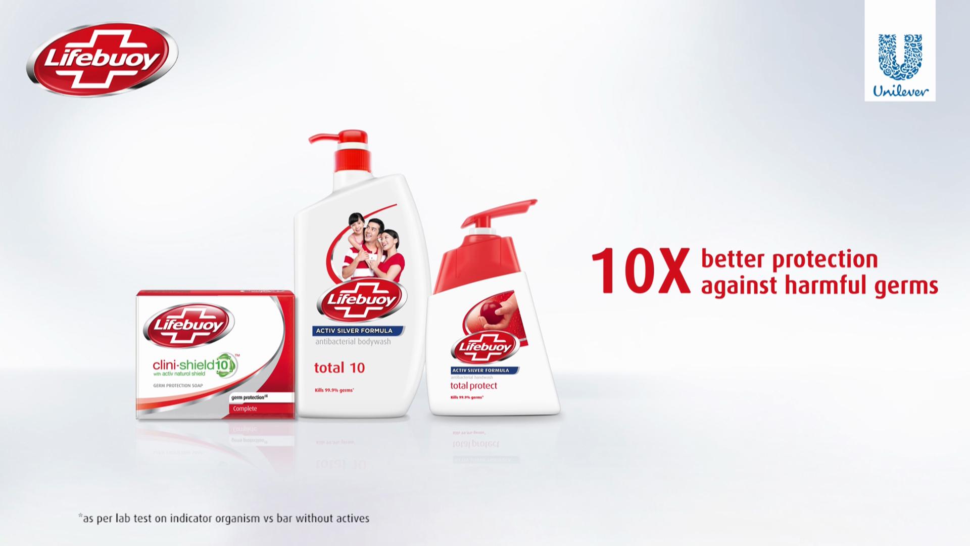 Unilever – Lifebuoy Singapur